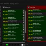 spycorder-schedule-english